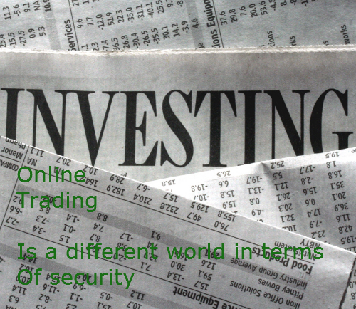 Online stock trading security